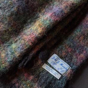Vintage Irish Mohair Blanket